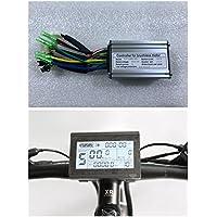 NBPower 24V/36V 250W 15A Brushless contrôleur de moteur à courant continu Ebike Controller + Kt-lcd3écran un Lot, utilisé pour 250W Ebike kit.