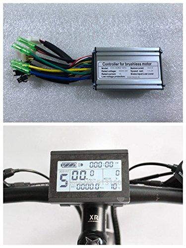 36 V/48 V 250 W 15 A Brushless DC Motor Controller eBike Controller + kt-lcd3 Display One Set verwendet für 250 W eBike Kit.