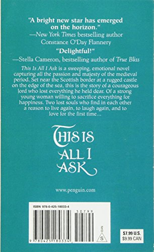 This Is All I Ask (de Piaget Family) [Idioma Inglés]