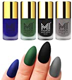 #3: MI Fashion Matte Nail Polish Pack of 4(9.9 Ml Each)