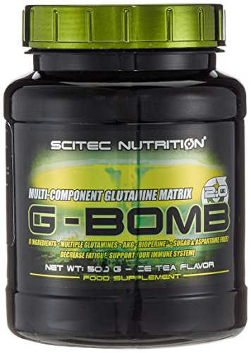Scitec Nutrition G-bomb 2.0, Ice Tea, 1er Pack (1 x 500 g)