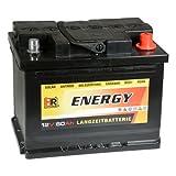 HR Energy 12V 60Ah Versorgerbatterie Solarbatterie