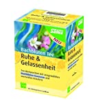 Salus Bachblüten-Tee Ruhe und Gelassenheit Bio 15 FB, 1er Pack (1x 30 g)