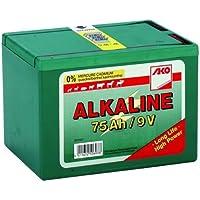 AKO batería Alkaline 9V, 75Ah