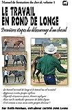 Le travail en rond de longe: Premières étapes du débourrage d'un cheval
