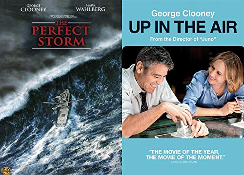 The Clooney Dramedy Pack: The Perfect Storm + Up In The Air, 2 Stück