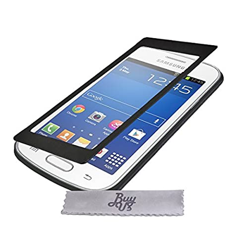 Etui Housse ExtraSlim Vitre TACTILE et Stand Samsung Galaxy Trend
