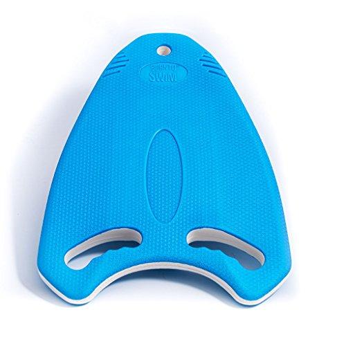 BOR NTO Swim Robusto Multi Training Aiuto Kickboard tavoletta da Nuoto per Bambini e Adulti, Blu, 40x 30x 3cm