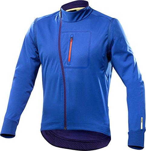 Mavic Ksyrium Elite Convertible Fahrrad Softshell Jacke / Weste blau 2018: Größe: XXL (58/60) -