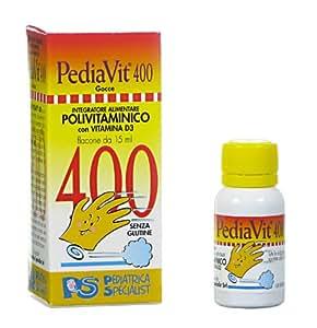 PediaVit 400 integratore polivitaminico con vit D3