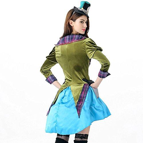 Imagen de hallowmax disfraz de halloween de mujeres, el sombrero loco de alicia alternativa