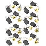 Sourcingmap a13080100ux0555 - 10 pares 12 x 8 x 5 mm escobillas de carbón cb 51 para amoladora angular makita