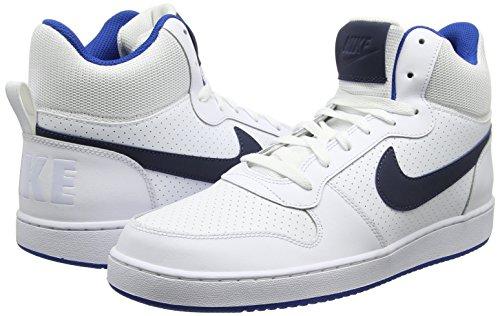 Bianco 40.5 EU Nike Court Borough Mid Sneaker a Collo Alto Uomo Scarpe q1e