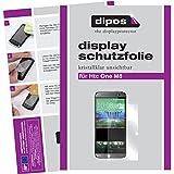 dipos I 2x Schutzfolie matt passend für HTC M8 Folie Displayschutzfolie