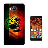581 - Rasta Lion Jamaican Style Design Elephone P9000 Lite