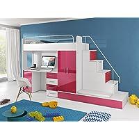 suchergebnis auf f r hochbett treppe. Black Bedroom Furniture Sets. Home Design Ideas