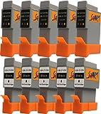 Start-Europe - 10 Ersatz Patronen kompatibel zu BCI-21 / BCI-24, Schwarz, Colour für Canon Pixma iP1000, iP1500, iP2000, MP110, MP130, MP390, i250, i255, i320, i350, i355, i450, i455, i470D, i475D, Smartbase MP360, MP370, MP375R, MP390, MPC190, MPC200, Pixus 320i, 455i, 475PD, MP10, MP360, MP370, MP375R, MP390, MP5, imageClass MPC190, MPC200, S200, S210, S300, S330, S330 Photo, Multipass F20, MP360, MP370