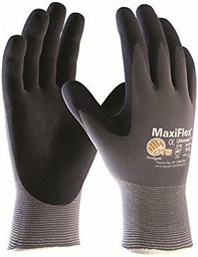 10 pares MaxiFlex Ultimate - guantes de nylon y espuma de nitrilo