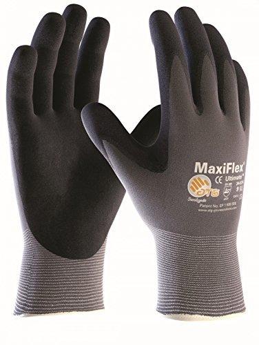 3er Pack MaxiFlex Ultimate, Arbeitshandschuhe, Montagehandschuhe (alle Größen), Größe:8 (M)