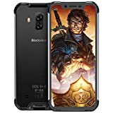 Blackview BV9600Pro Robust Handy,Helio P60 Prozessor 6GB RAM+128GB ROM IP69K Outdoor Smartphone,19:9 Amoled 6.2 Zoll Display 16MP+8MP+8MP Dual kameras,Globales 4G-Netzwerk Kabelloses Laden,Schwarz