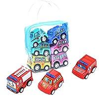 Cheap.Top Selling JYC Children Simulate Educational Trailer Toy Inertia Truck Kids Race Car Set 6PCS