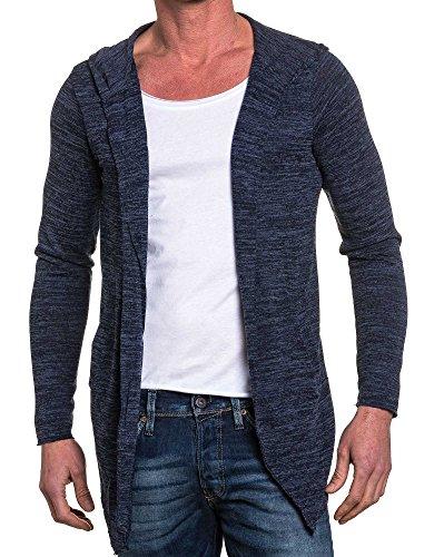 BLZ jeans - Cape navy homme et tee-shirt blanc Bleu