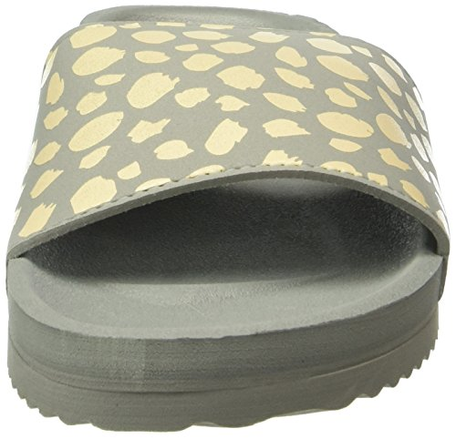 flip*flop Pool Spots, Mules Femme Gris - Grau (Flint Grey 059)