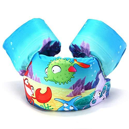 Kinder schwimmen Schwimmweste Kinder schwimmen Jacke, aufblasbare Armbänder (2-7 Jahre)
