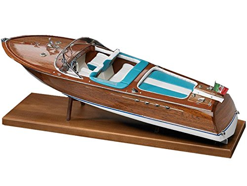 AMATI - MODEL KIT HÖLZERNES BOOT Runabout (Aquarama-Typ) Maßstab 1:10