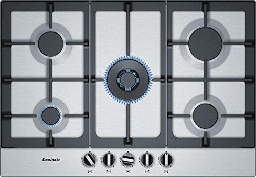 Constructa ca174652 de cuisson au gaz/Inox/75 cm/5 zones