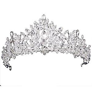 KPHY Schöner Kopfschmuck/Braut-Krone Ornamente Hochzeit Hochzeits-Accessoires Hochzeits-Accessoires Kristall-Krone Atmosphäre