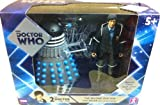 Doctor Who Second Doctor with Dalek Figure Set