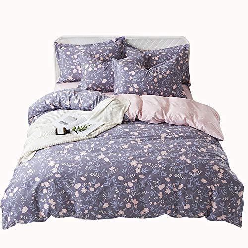 Wma-casa semplice grande cotone sonno nudo set di 4 pezzi rivestimenti del letto cotone piccola copertina trapunta fresca set di lenzuola copripiumino (200 * 230cm)