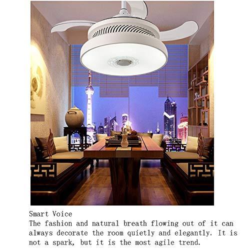 SUNSHIN Ventilador de Techo de iluminación Inteligente con máquina de Fumar araña Restaurante inversor...