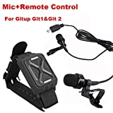 Riyc Zubehör und Teile Für Gitup Git2 Git1 Sport-Kamera mit Peking-Oper Schlüsselanhänger (Controller Add Microphone)