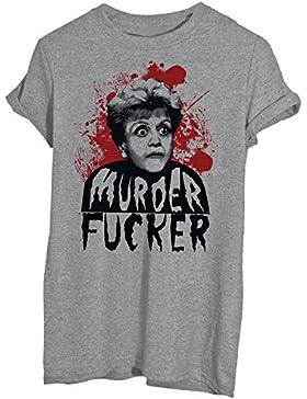 T-Shirt JESSICA FLETCHER MURDER LA SIGNORA IN GIALLO - FAMOSI - Maglietta iMage
