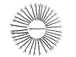 Ram Mali 72 Pieces Bobby Pins For Kids/Girls/Women. Original Carbon Steel Pins. (SMALL).