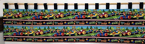 Wandschutz für das Kinderbett Gross (Rennwagen)