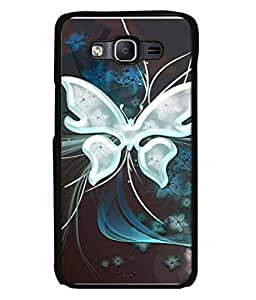 Fabcase Graphic Designed Butterfly Abstract Designer Back Case Cover for Samsung Galaxy On7 Pro :: Samsung Galaxy On 7 Pro (2015)