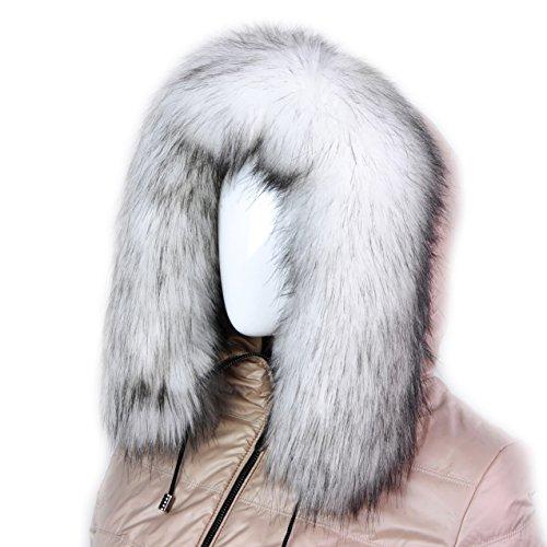 futrzane-trim-hood-faux-fake-fur-hood-winter-for-jacket-ski-collar-wrap-shawl-white-with-brown