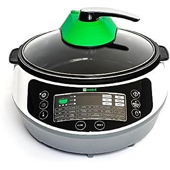 Onepot SF-1705 Multikocher / Dampfgarer / Reiskocher / Slow Cooker  / Fritteuse / Joghurtbereiter / Brotbackautomat unter einem Deckel