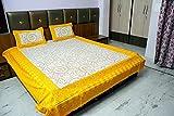 MeePra Rajasthani Paisley Double Bedshee...
