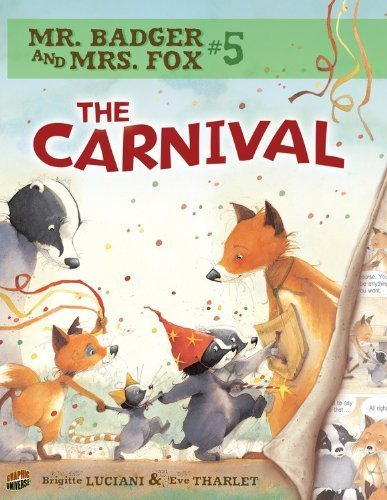 Mr. Badger and Mrs. Fox 5: The Carnival (Comic)