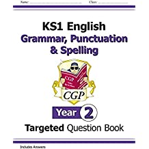 KS1 English Targeted Question Book: Grammar, Punctuation & Spelling - Yr 2 (for the New Curriculum)