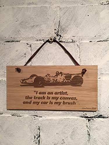 Graham Hill F1Driver Zitat