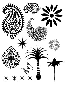 Paisley - Special Occasions - Clear Rubber Stamps