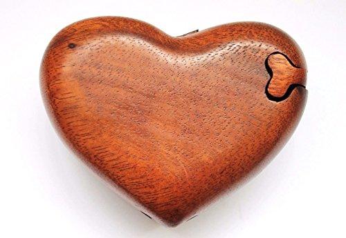 Wohnkult Herz Magic Box Schatulle Kästchen Dose 12 cm x 10 cm Schmuckkästchen Geschenk