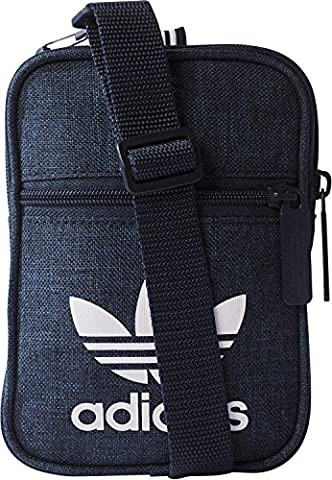 adidas Herren Casual Festival Bag Umhängetasche, Collegiate Navy, 12 x