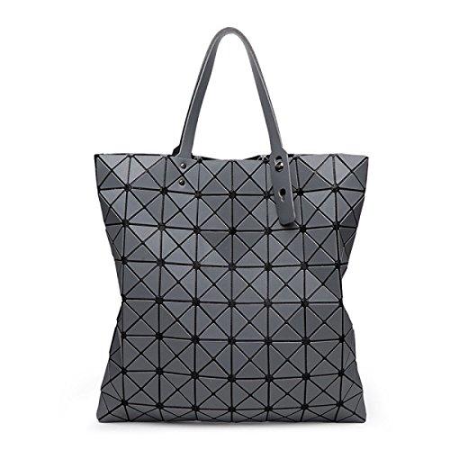 Damen Nashörner Handtasche Mode Persönlichkeit Gezeiten Lässig Damen Schulterbeutel Farbe Draußen Einfach Luxus Gehobene Tasche Gray