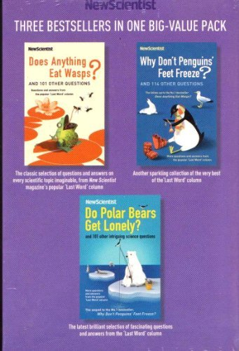 NEW SCIENTIST 3 BESTSELLERS In One Pack | Boxed Set / Collection (RRP£20.97) (Does Anything Eat Wasps, Why Don't Penguins Feet Freeze, Do Polar Bears Get Lonely)